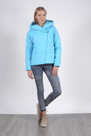 Куртка 93523 голубая