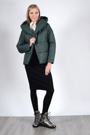 Куртка 93523 зеленая