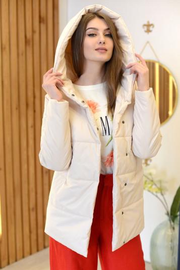 Куртка женская 93558 молоко