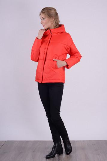 Куртка деми 93565 красная