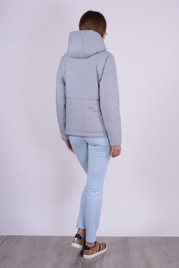 Куртка деми 93565 серая