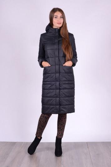 Пальто деми 83507 черное
