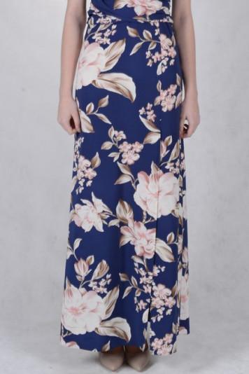 Платье 7118 синий