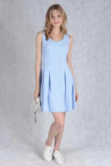 Платье 7131.2 голубое