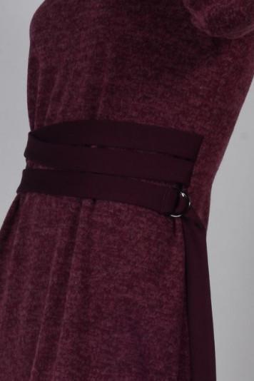 Платье 8103 бордо