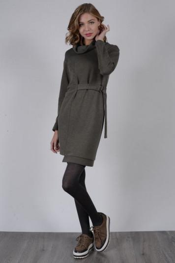 Платье 8106 хаки
