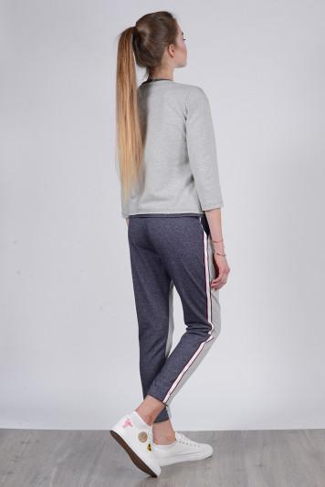 Джемпер 8306 + брюки 8206 меланж