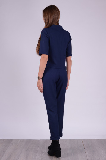 Джемпер 8312 + брюки 8212 синие