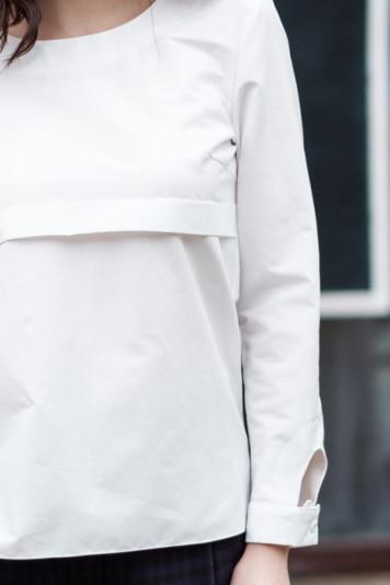 Блуза 8311.2 белая