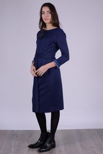 Платье 9108 синее