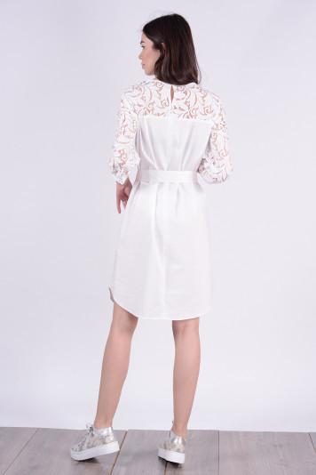 Платье 9114 белое