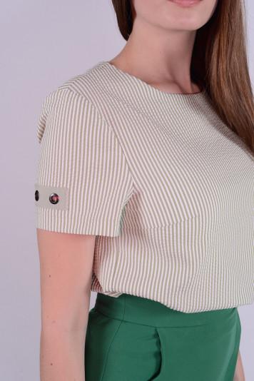 Блуза 9308 полоска