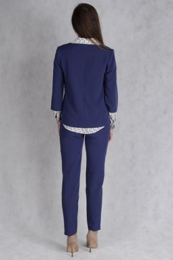Джемпер 7133 + брюки 7130 синий