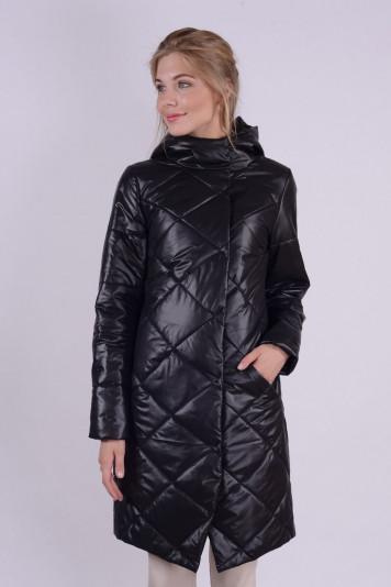 Пальто деми 93562 черное