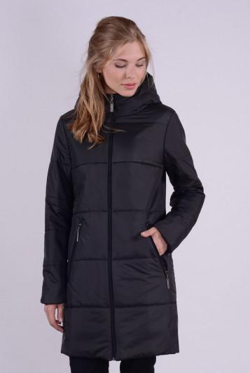 Пальто деми 93563 черное