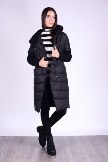 Пальто женское 93527 черное