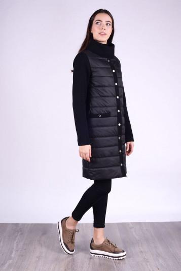 Пальто женское деми 93550 черное