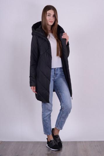 Пальто 93564 черное
