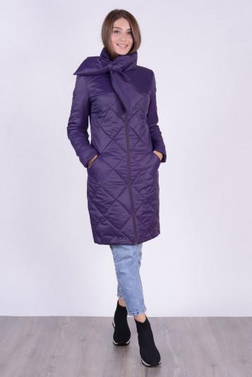 Пальто 93569 черника