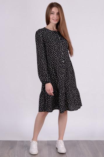 Платье 0108 черное