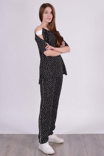 Блуза 0303 черная