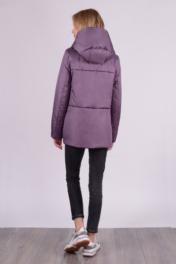 Куртка деми 99625 сливовая