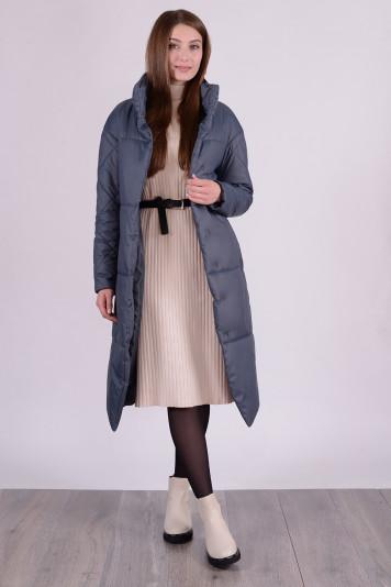 Пальто демисезонное 99609 маренго