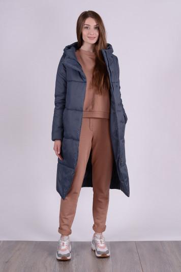 Пальто деми 99610 маренго