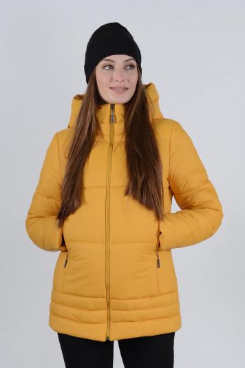 Куртка зимняя 99635 охра
