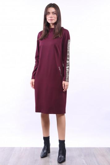 Платье 0103 бордо