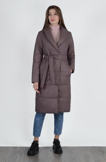 Пальто демисезонное 13647 кофе