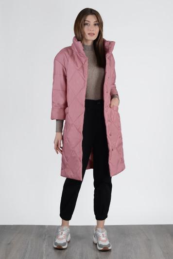 Пальто демисезонное 13650 ягодное