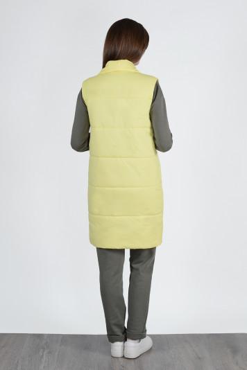 Жилет женский 13657 желтый