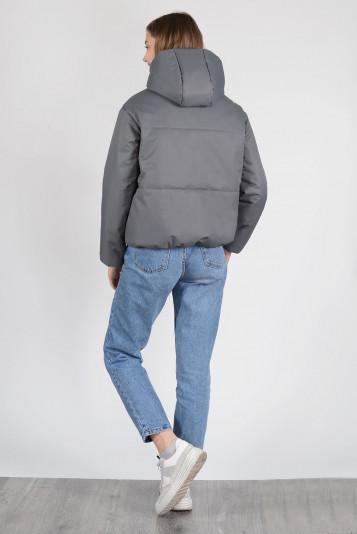 Куртка деми 13658 антрацит