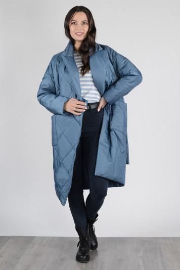 Пальто деми 13673 лагуна