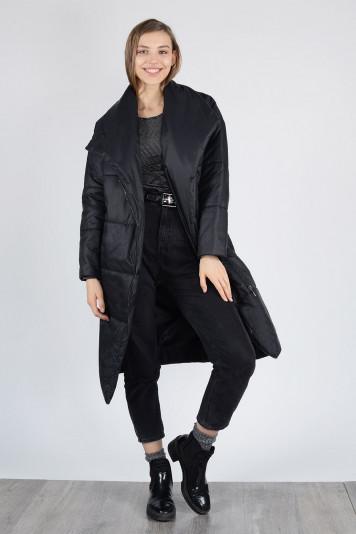 Пальто деми 13674 черное