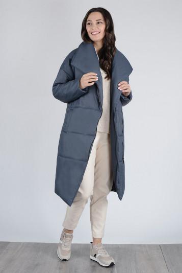 Пальто деми 13674 маренго