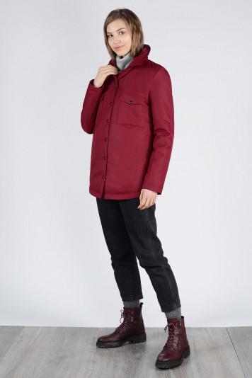 Куртка-рубашка 13675 бордо