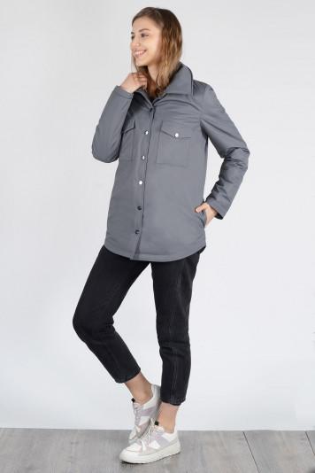 Куртка-рубашка 13675 антрацит