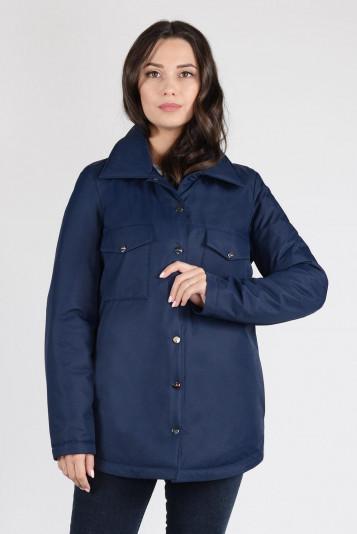 Куртка-рубашка 13675 синяя