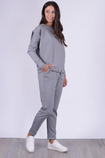 Свитшот 1303 + брюки 1203 серый меланж