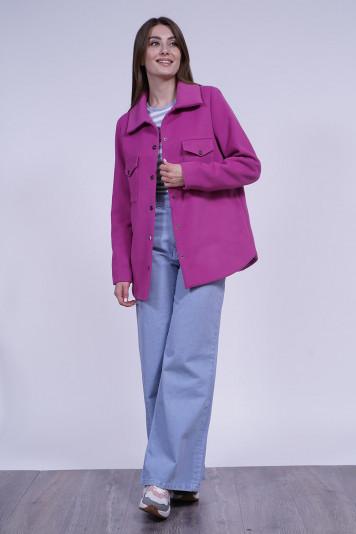 Куртка-рубашка 13701 фуксия