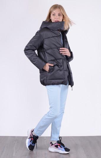 Куртка зимняя 13692 графит