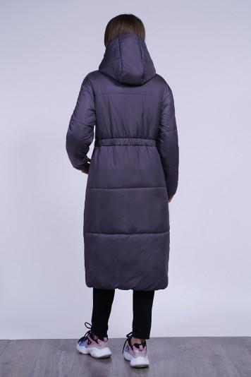 Пальто зимнее 13688 индиго
