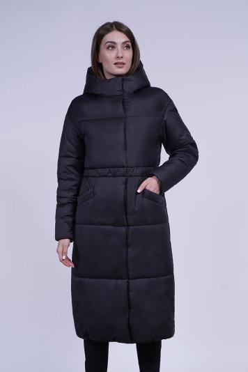 Пальто зимнее 13688 черное