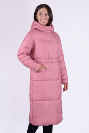 Пальто зимнее 13688 ягодное