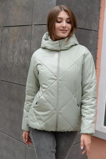 Куртка деми 13677 шалфей