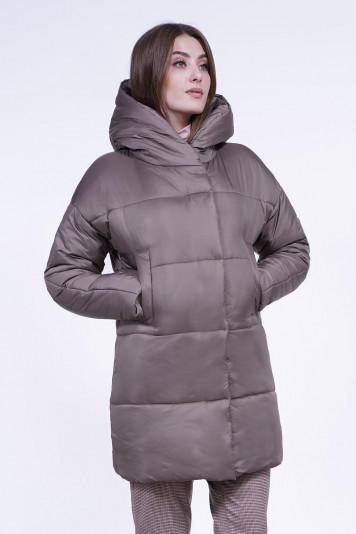 Пальто зимнее 13690 кофе