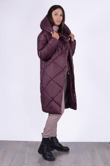 Пальто зимнее 13694 фьюдж