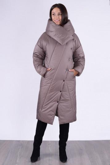 Пальто зимнее 13693 кофе